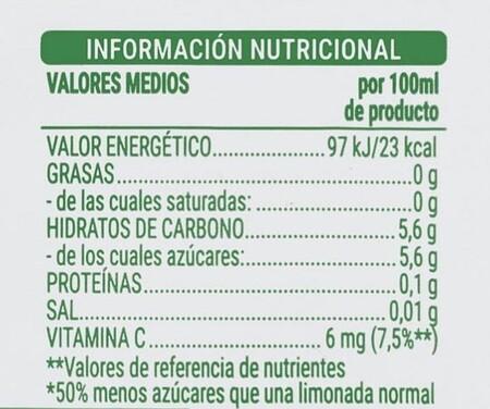 Etiqueta Limonada