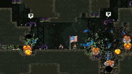 Los aliens invaden Broforce y su tráiler es demencial