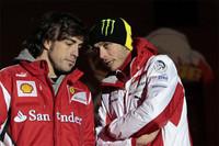 Webber dice que Alonso y Rossi serán pilotos de Ferrari en Le Mans