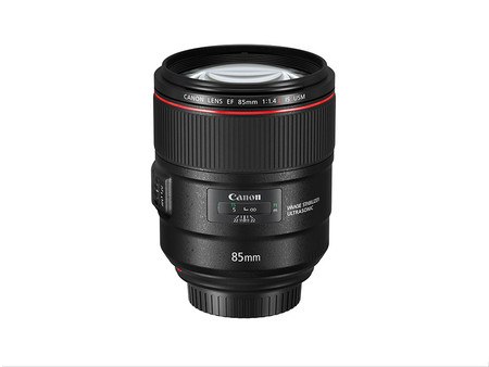 Ef 85 Mm F1 4l Is Usm Slant With Cap