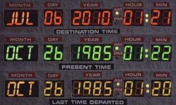Marty McFly está a punto de llegar a nuestra época