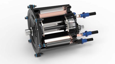 Los motores eléctricos de plástico pueden ser el futuro, como este fabricado con polímeros en vez de metal