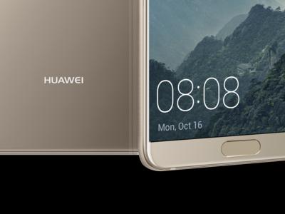"""Huawei nos demuestra que un teléfono """"sin marcos"""" también puede llevar sensor de huellas en el frontal"""