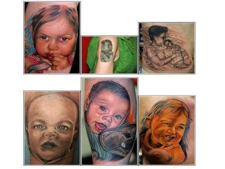 Más tatuajes de bebés