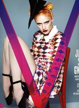 Gwen Stefani portada de la revista V