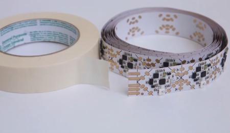 El MIT crea una cinta llena de sensores para los amantes de la electrónica casera