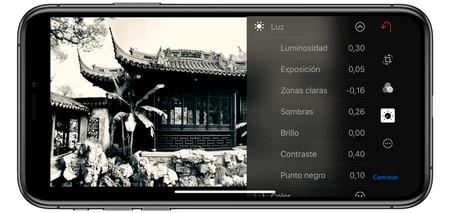 Ajustes De Fotografia Iphone Luz