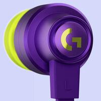 Logitech tiene nuevos auriculares gaming: los G333 son económicos, con cable y de tipo in ear