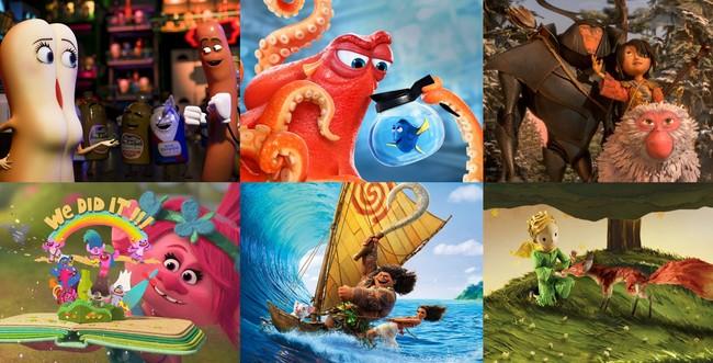Este vídeo repasa las 27 películas de animación que optan al Oscar 2017