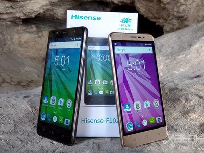 Hisense F102, primeras impresiones: la gama baja tiene un nuevo contendiente con Android Nougat 7.0