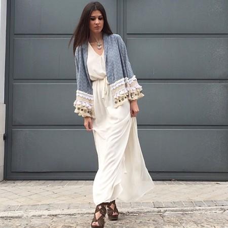 Kimono Folk Zara Primavera Verano 2015 2
