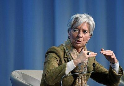 Christine Largarde: la economía mundial mejora pero quedan obstáculos