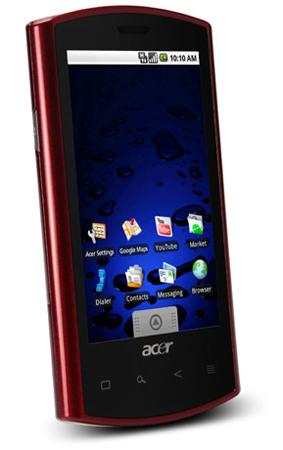 Acer Liquid e, esperada actualización con Android 2.1