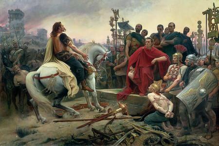 Siege Alesia Vercingetorix Jules Cesar