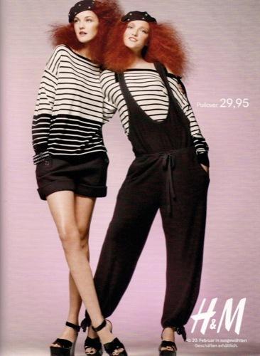 Colección exclusiva de Sonia Rykiel para HM, Primavera-Verano 2010. Rayas