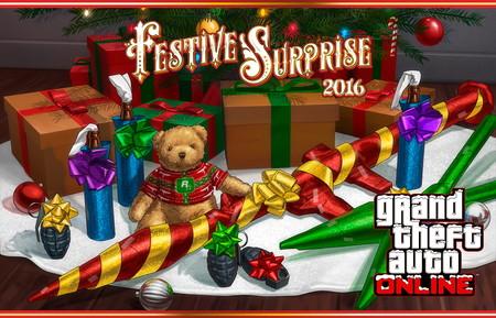 GTA Online: la Navidad comienza oficialmente en Los Santos con la Sorpresa festiva 2016