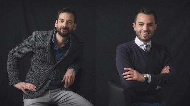 Erico Navazo y Manuel Espejo