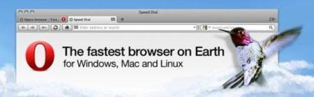 Opera 10.50 para Mac
