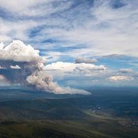 Hace tanto calor que los bosques del Ártico están ardiendo como nunca antes lo habían hecho