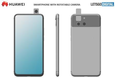 Huawei P Smart Z 2020 Patente Diseno