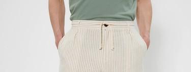 Los más veraniegos pantalones de lino los encuentras en las rebajas de Sfera