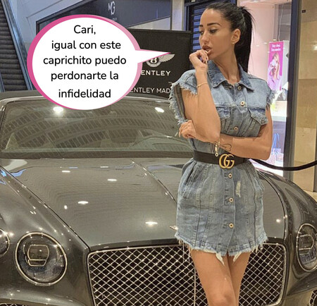 Este es el impactante cochazo de lujo que Jesé Rodríguez le ha regalado a Aurah Ruiz por Navidad
