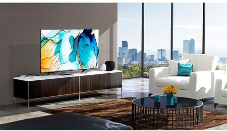 """Este smart TV 4K ULED de 55"""" de Hisense con Dolby Vision y Atmos es un chollo: cómprala rebajadísima a 579 euros en Amazon"""