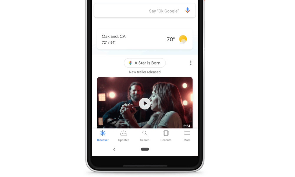 Google for Android and renews your feed with the launch of