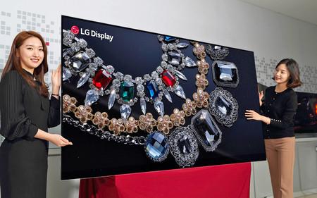 LG calienta CES 2018 con un televisor 8K de 88 pulgadas