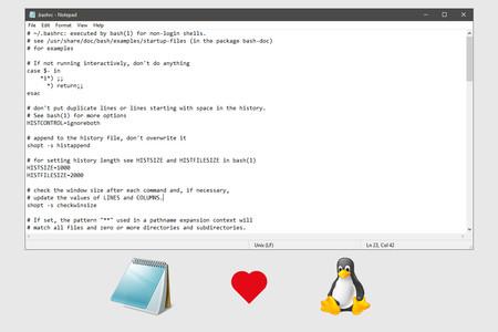 El bloc de notas de Windows se actualiza: introduce soporte para finales de línea de Unix/Linux y Macintosh