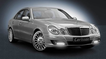 Luces diurnas en Mercedes Clase E