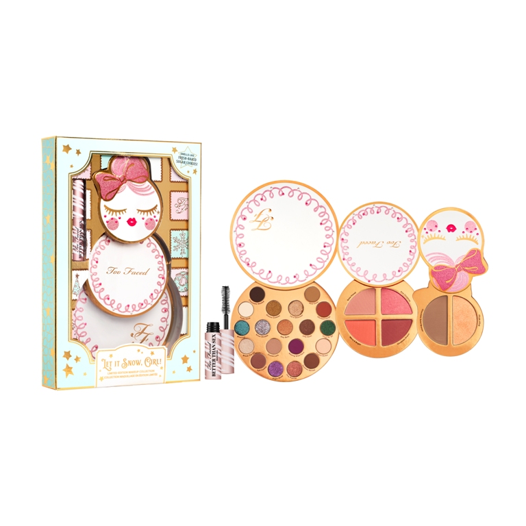 Set de maquillaje Let It Snow Girl de Too Faced