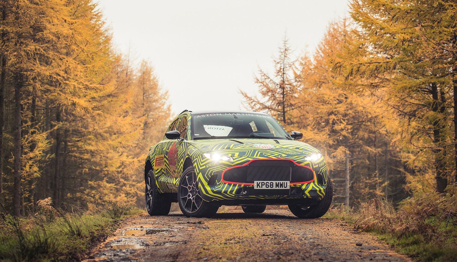 Aston Martin DBX, primeras imágenes