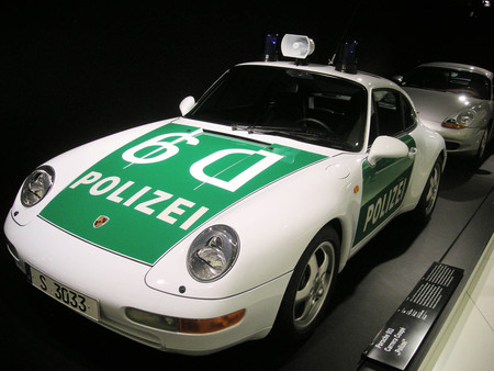Porsche 911 Carrera Coupe Polizei
