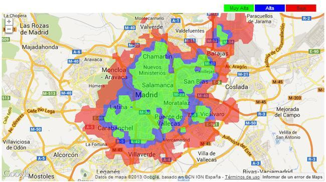 Vodafone 4G Cobertura
