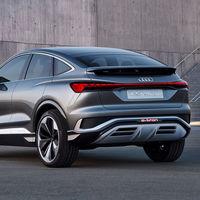 Audi presenta el prototipo de su nuevo Q4 Sportback, un impresionante SUV coupé eléctrico con 306 CV y 450 km de autonomía