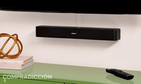 Sonido de calidad y sin complicaciones para tu tele a precio de risa: la barra de sonido 2.0 Bose Solo 5 cuesta 149 euros ahora en Amazon