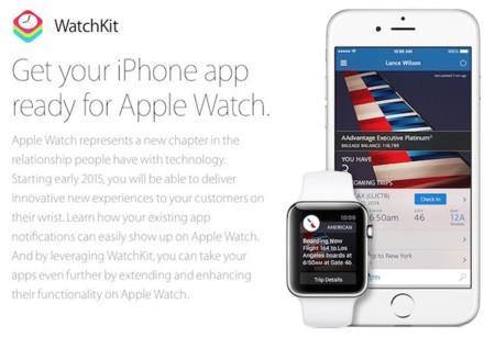 Apple prepara el camino hacia el Apple Watch y lanza la beta de iOS 8.2 y Watchkit