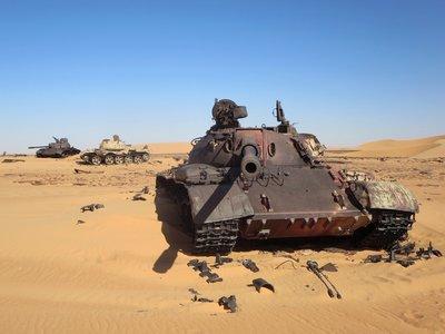 ¿Dónde acaban los vehículos militares abandonados tras la guerra?