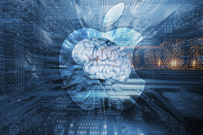 Artificial Intelligence Apple Logo