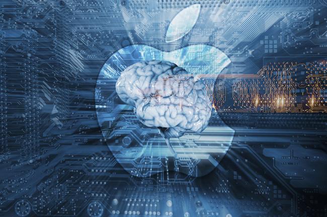 Artificial Intelligence Apple® Logo