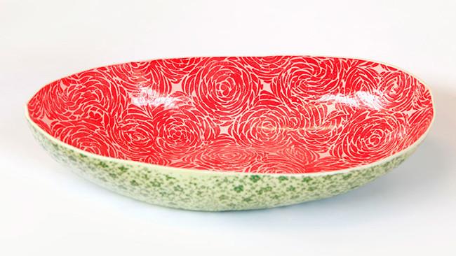 Si te gustan las sandías, mira estos preciosos cuencos tallados de Samantha Robinson