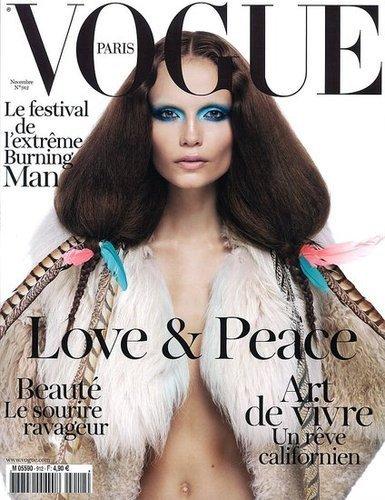 La excepcional portada de Vogue París