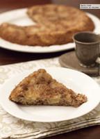 Receta de bizcocho de manzana y nueces al aroma de canela