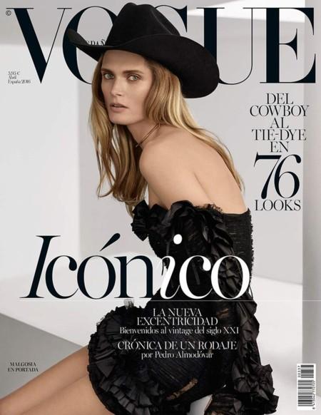 Vogue España:  Malgosia Bela