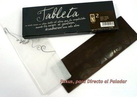 Tableta de chocolate de Alma de cacao