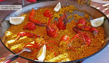 Restaurante La Cova del mero. Arroz con bogavante