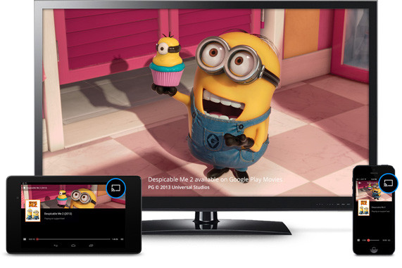 Chromecast Despicable Me 2
