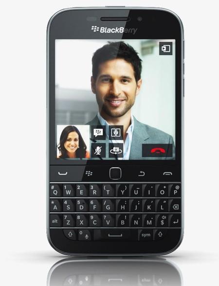 Blackberry nos retorna al pasado lanzando (de nuevo) su Blackberry Classic