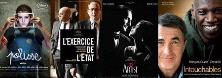 Nominaciones a los César: dos cintas francesas superan a 'The Artist'